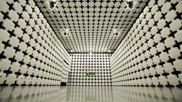 Nell'hub tecnologico Imq una camera schermata semianecoica di ultima generazione