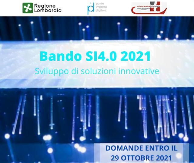 Prodotti e servizi innovativi: al via la terza edizione del bando SI 4.0