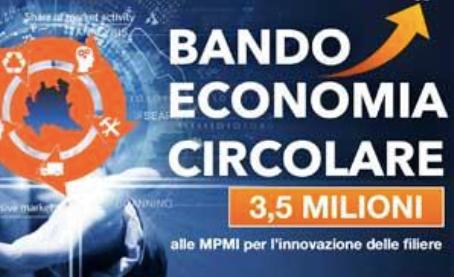 Bando economia circolare: 3,5 milioni di euro a 50 aziende lombarde